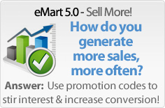 eMart - online promotions and promotion code management